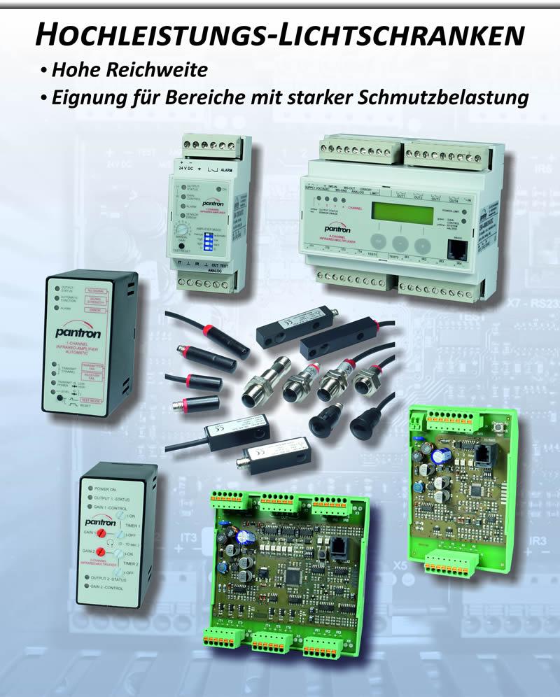Plakat Hochleistungs-Lichtschranken