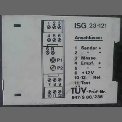 Abbildung zeigt Produkte der Kategorie ISG 23-121
