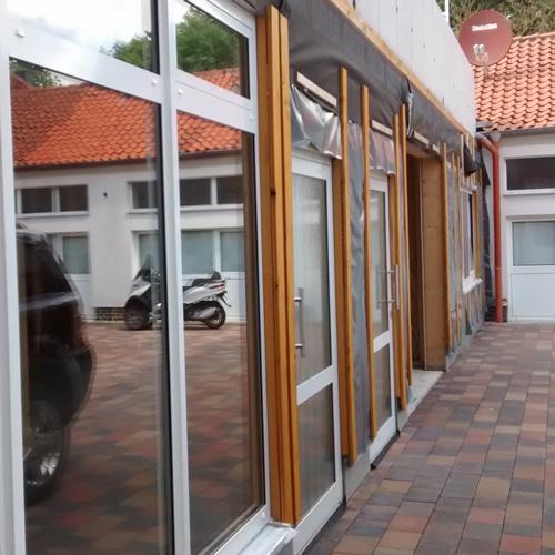 Bild zeigt Ansicht des Neubaus