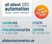 Messetermine All about Automation