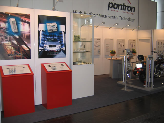 Pantron booth at Hannover Messe